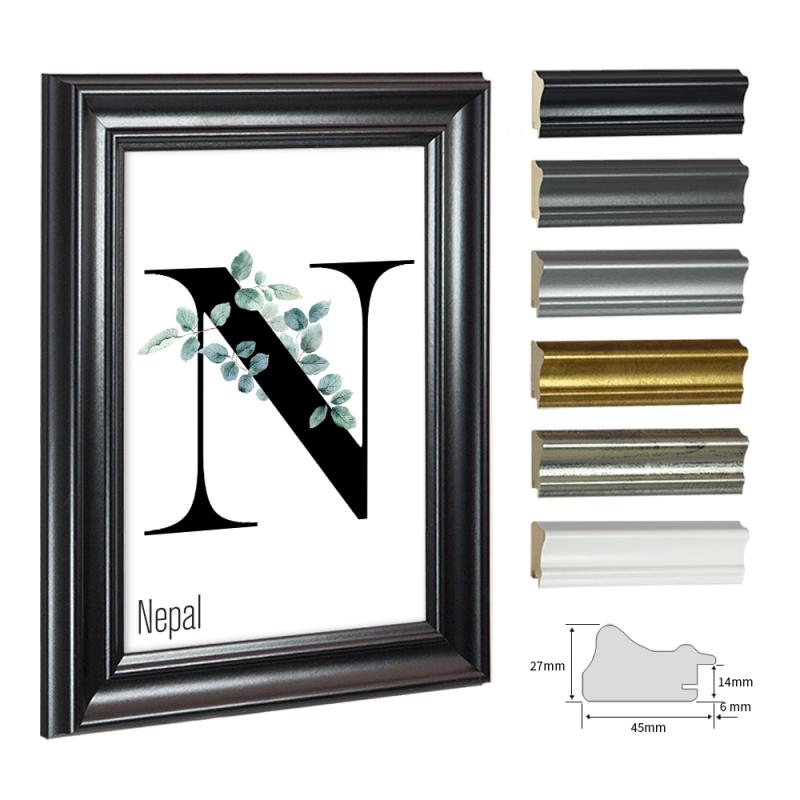 bilderrahmen nepal f r poster im posterformat. Black Bedroom Furniture Sets. Home Design Ideas