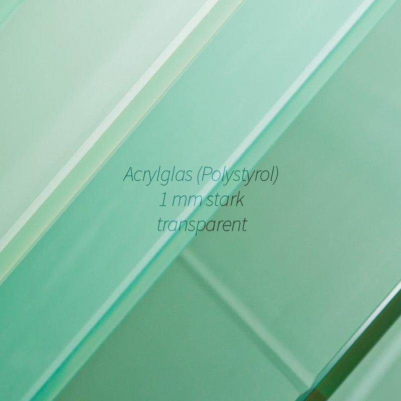 EUROLINE35 Bilderrahmen 48x136 oder 136x48 cm mit entspiegeltem Acrylglas