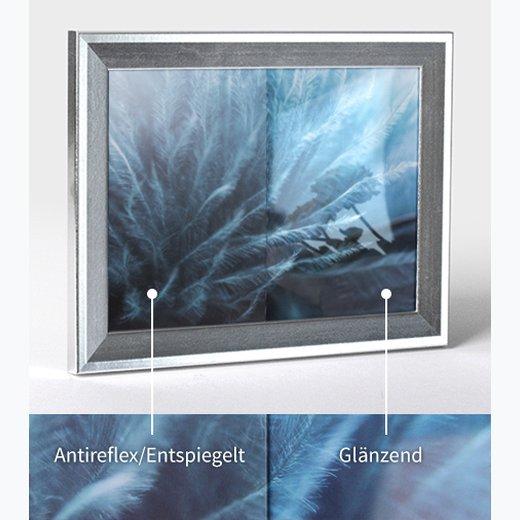 EUROLINE35  Bilderrahmen 84x110 oder 110x84cm mit entspiegeltem Acrylglas