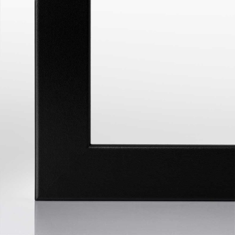 Kunststoff-Bilderrahmen bis 60x80 NEU Farbe Schwarz